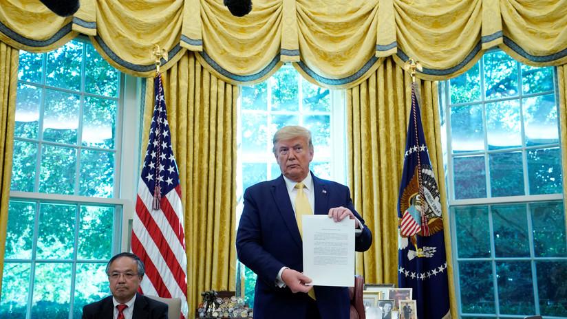 Trump anuncia que China ya ha comenzado a implementar los términos del acuerdo comercial con EE.UU.