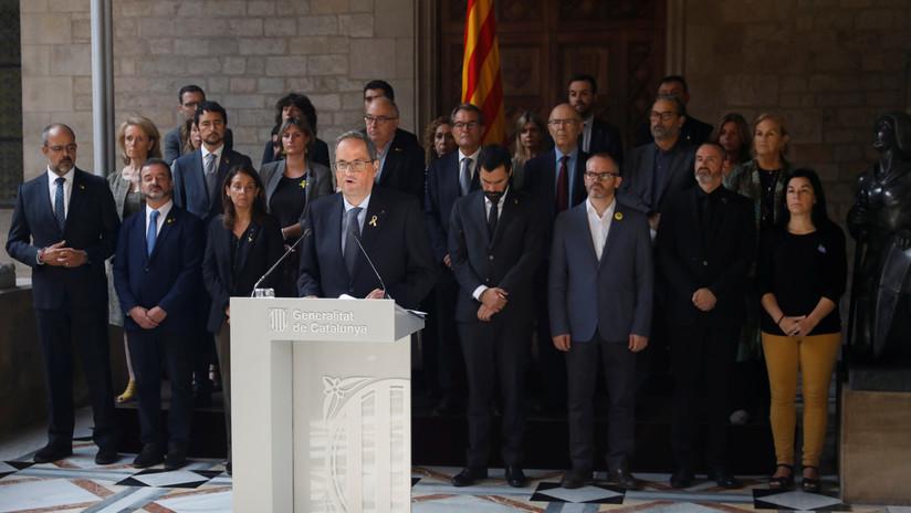 """Presidente de Cataluña, sobre la sentencia del 'procés': """"Es un insulto a la democracia y un menosprecio a la sociedad catalana"""""""