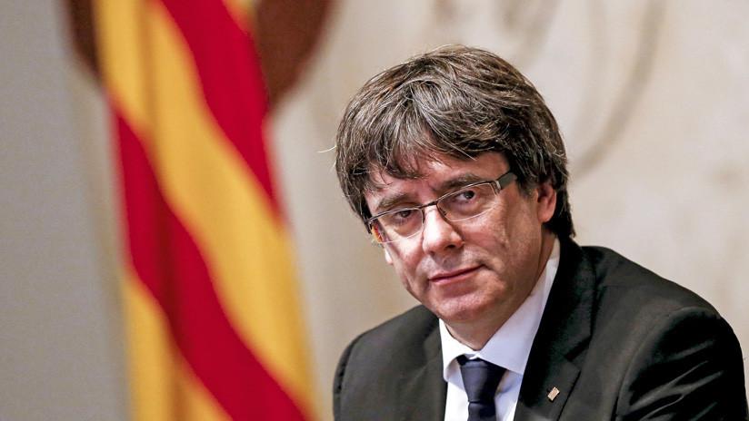 El Supremo de España reactiva la euroorden de detención contra Carles Puigdemont