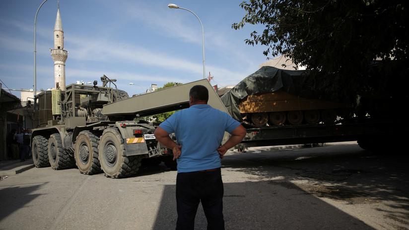 """Los países de la UE condenan """"por unanimidad"""" el operativo de Turquía en Siria"""