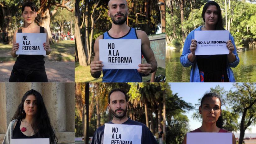 VIDEO: Futbolistas uruguayos se posicionan contra la militarización de las calles y el endurecimiento de las penas de prisión