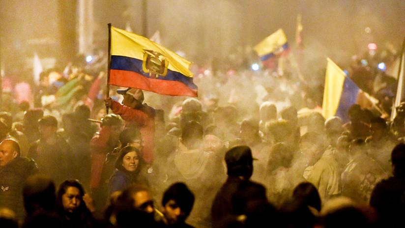El Gobierno levanta el estado de excepción en Ecuador y el toque de queda en Quito