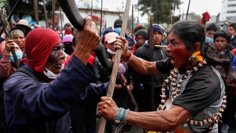 Movimiento indígena de Ecuador espera la normalización de las tarifas de combustibles y pasajes para este martes