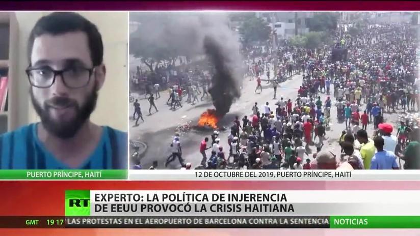 Haitianos salen a las calles por el desabastecimiento de combustible