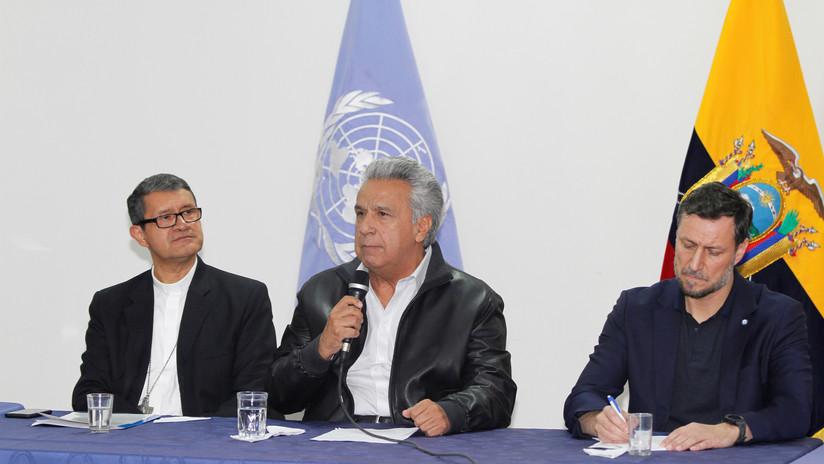 Lenín Moreno aprueba un decreto para derogar al polémico 883, tras acuerdos con el movimiento indígena en Ecuador