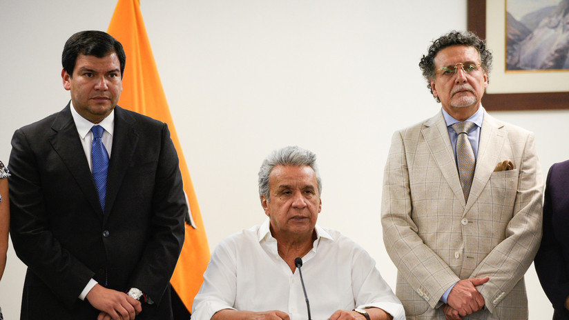 """Moreno enviará al Parlamento una ley de """"reactivación productiva"""" y empleo, tras derogar el decreto que generó la crisis en Ecuador"""
