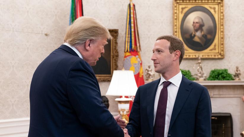 #DeleteFacebook crece entre las voces demócratas tras revelarse que Zuckerberg se reunió con republicanos