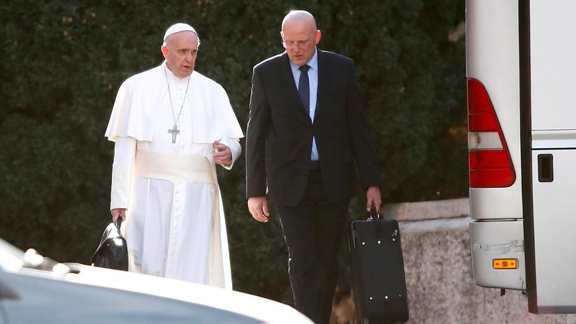 Dimite el jefe de seguridad del papa Francisco por un escándalo de filtración de datos confidenciales