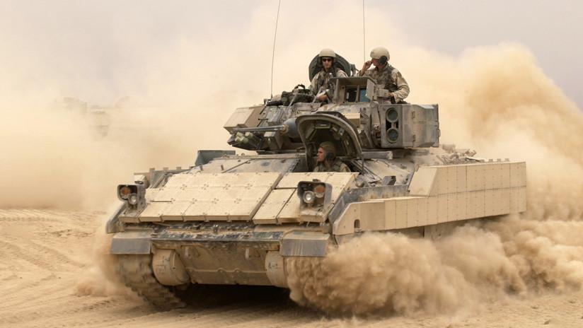 Asesino universal: Ejército de EE.UU. quiere que sus nuevos vehículos blindados porten láseres y derriben drones