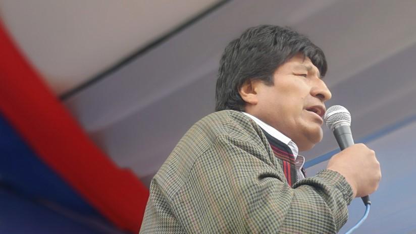 A 5 días de las elecciones, Evo Morales denuncia injerencia de la Embajada de EE.UU. y que exmilitares preparan un golpe si él gana