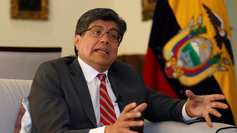 """Ecuador culpó ante la OEA a """"factores de injerencia extranjera"""" de la crisis desatada por el 'paquetazo'"""