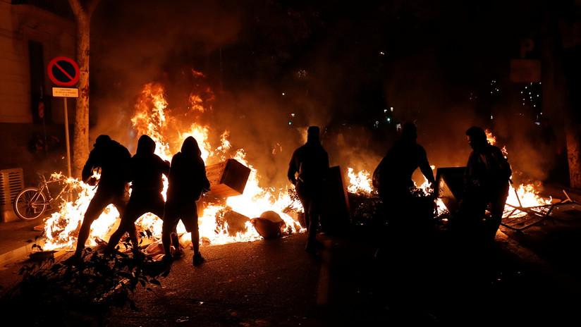 """El Gobierno de España califica la violencia durante las protestas en Cataluña de """"generalizada"""""""