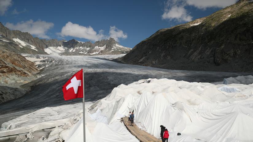 Los glaciares suizos se redujeron un 10 % en los últimos 5 años