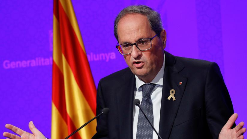 El Tribunal Constitucional advierte al presidente de Cataluña que puede incurrir en desobediencia si desoye sus prohibiciones