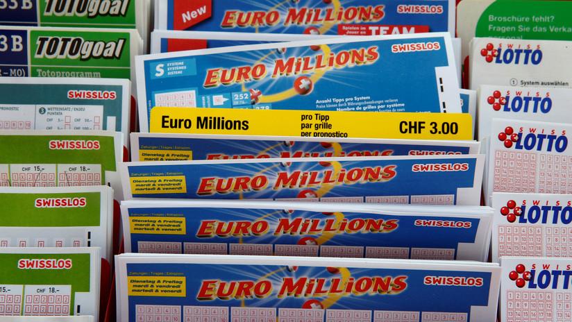Un hombre participa por primera vez en una lotería, se decepciona antes de tiempo y casi arroja a la basura medio millón de euros