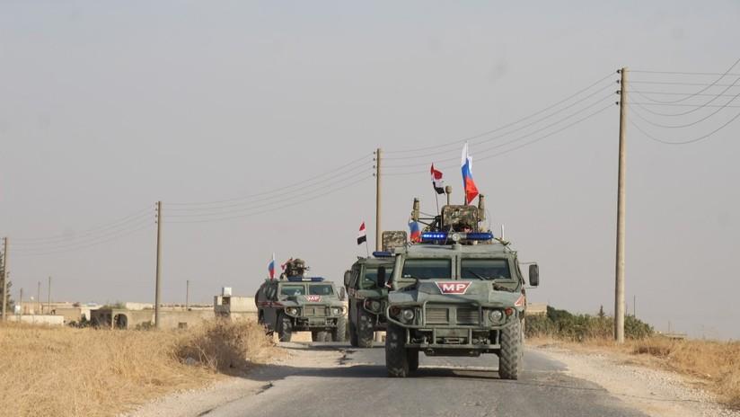 FOTOS: Policía Militar rusa patrulla la ciudad siria de Manbij tras la retirada de las tropas de EE.UU.