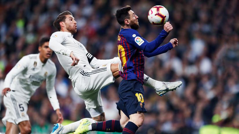 La Liga pide que el Clásico entre el Real Madrid y el Barcelona se dispute en la capital española