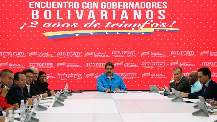 Maduro anuncia que otorgará una mina de oro a cada gobernación de Venezuela