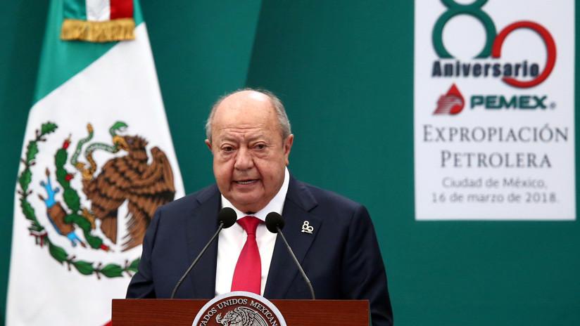 Polémico líder investigado por corrupción en México presenta su 'dimisión histórica' a la dirigencia del sindicato petrolero