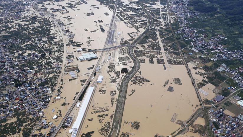 VIDEOS: El tifón Hagibis derramó en un río el contenido de bolsas con residuos radiactivos de la central nuclear Fukushima