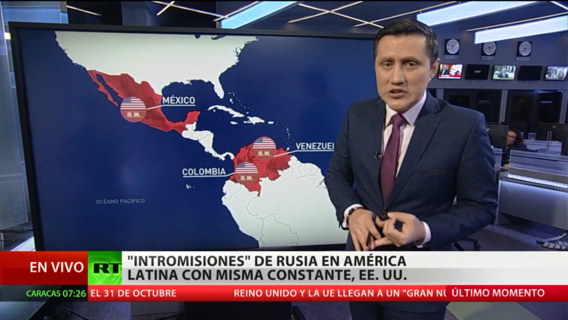 La 'injerencia' rusa en América Latina, una estrategia con EE.UU. como constante