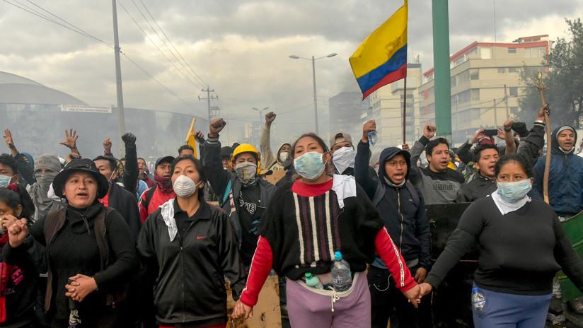 Violación de los derechos humanos, censura a los medios y rechazo al FMI: los temas pendientes en Ecuador