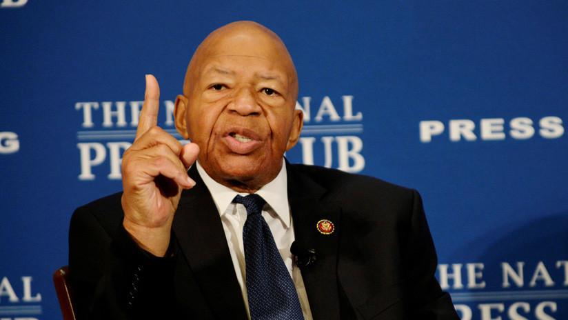 Muere el congresista demócrata Elijah Cummings, uno de los impulsores del juicio político contra Trump