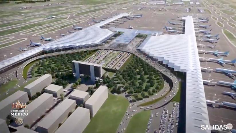 Las dudas y contradicciones que rodean al nuevo aeropuerto de Santa Lucía en México