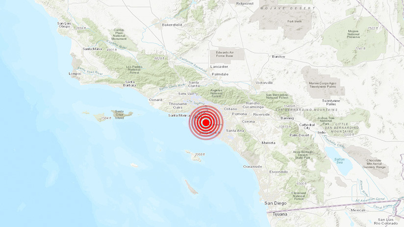 California sufre un cuarto sismo de magnitud superior a 3 en menos de 24 horas