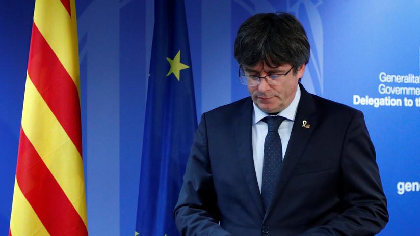 El juez belga deja al expresidente catalán Puigdemont en libertad sin fianza tras la 'euroorden' emitida por España