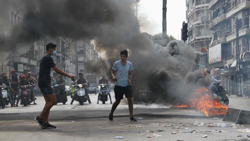 VIDEOS: Miles de libaneses toman calles en protesta contra el Gobierno y los nuevos impuestos