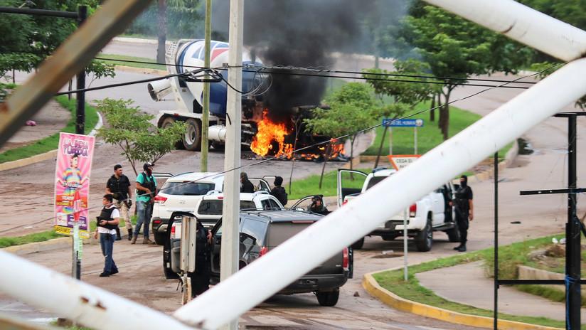 Gobierno de México confirma ocho muertos y varios heridos tras los tiroteos en Sinaloa