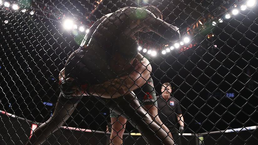 VIDEO: Un luchador estadounidense de MMA noquea a los 29 segundos a su invicto rival ruso
