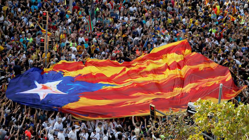 Protestas en Cataluña por el fallo del 'procés'