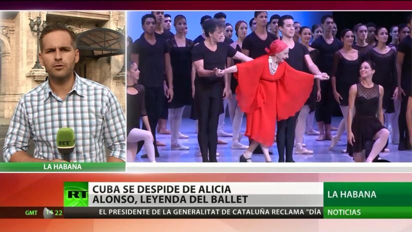 Cuba despide a Alicia Alonso, leyenda del ballet
