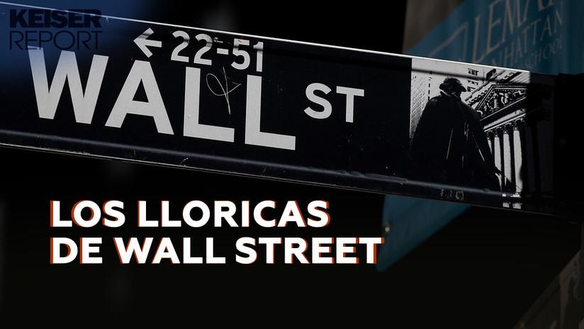 """El fracaso de """"los lloricas de Wall Street"""" a la hora de conseguir más dinero gratis de la Reserva Federal"""