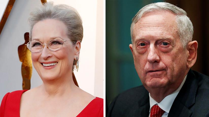 """Exjefe del Pentágono responde con ironía a los ataques de Trump: """"Soy la Meryl Streep de los generales"""""""
