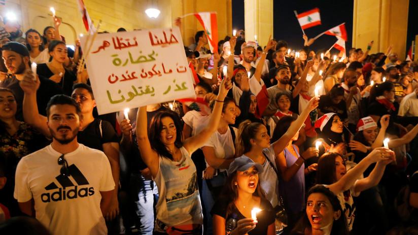El partido cristiano Fuerzas Libanesas anuncia su dimisión del Gobierno tras las masivas protestas