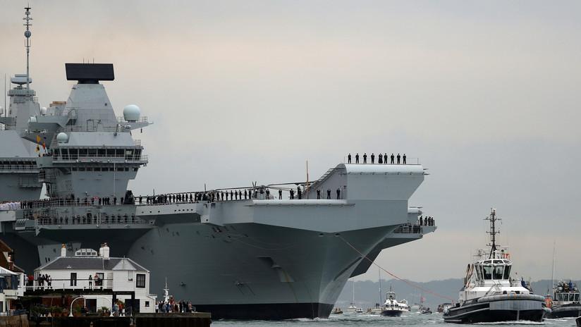 El piloto de un F-35 se cae en el portaviones Queen Elizabeth y Reino Unido investiga la filtración del video