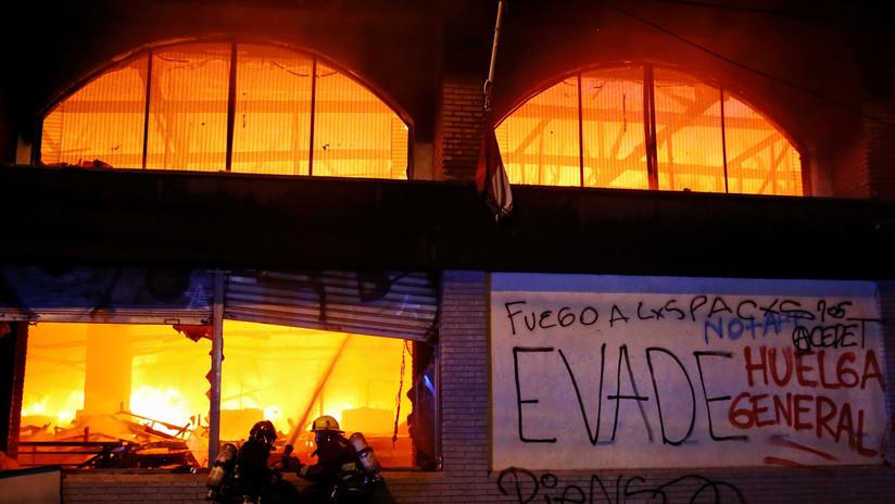 El Gobierno de Chile desplegará 1.500 militares adicionales para apaciguar los disturbios