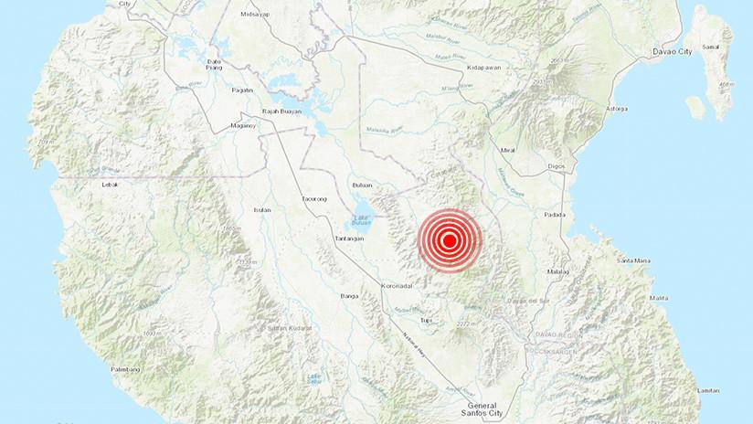 Un terremoto de magnitud 5,2 sacude el sur de Filipinas