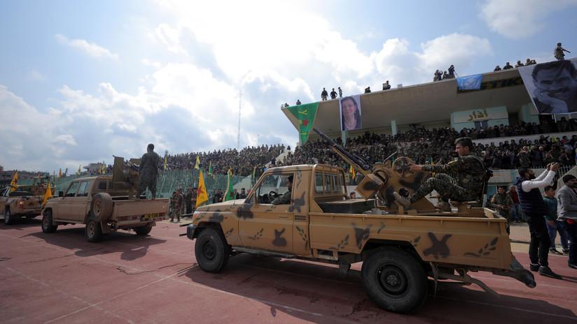 Fuerzas kurdas habrían empezado a retirarse de las áreas acordadas por EE.UU. y Turquía