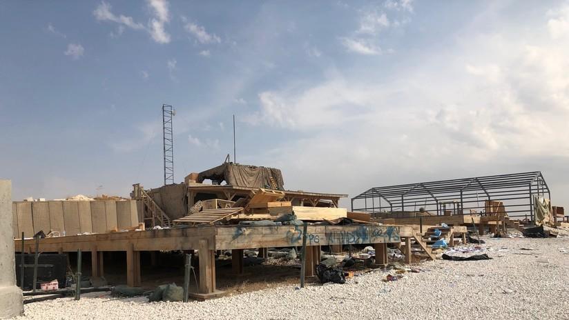 Las tropas de EE.UU. destruyen su propia base mientras huyen del noreste de Siria