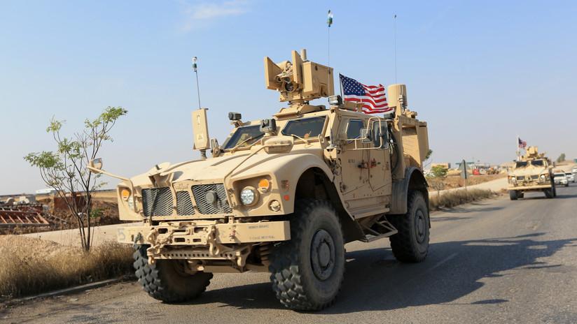 VIDEO, FOTOS: Un centenar de vehículos militares de EE.UU. abandonan Siria y entran en Irak