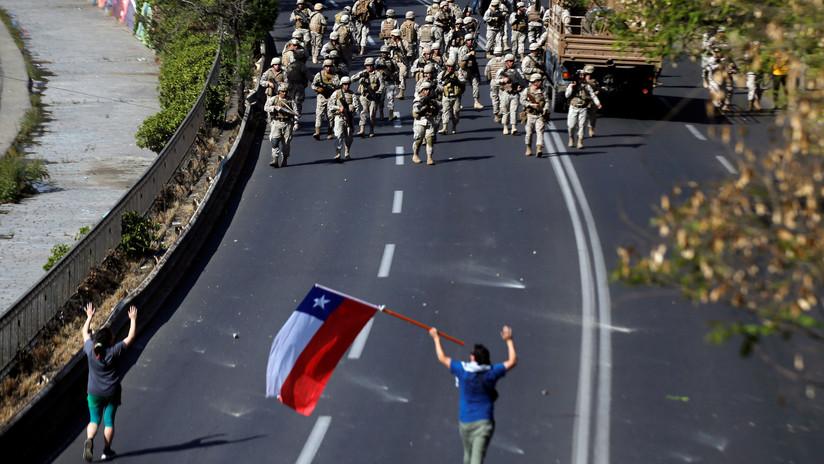 """""""No estoy en guerra con nadie"""": el general a cargo del estado de emergencia en Chile contradice a Piñera"""