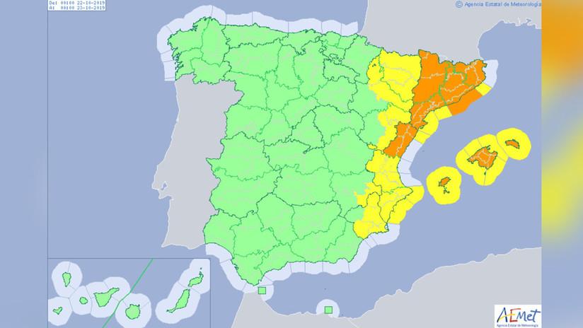 Alerta en el mediterráneo: una nueva gota fría dejará lluvias torrenciales en España