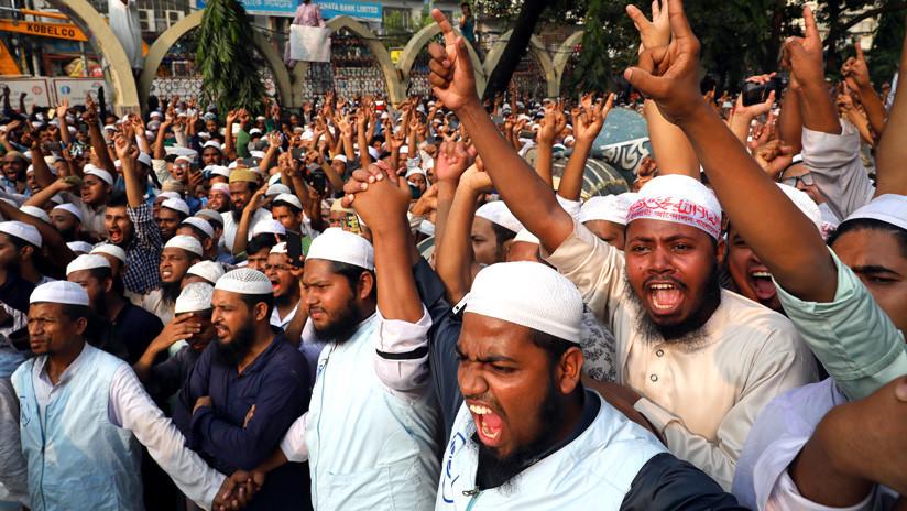 Cuatro muertos en Bangladés en unos altercados desatados por una publicación antiislámica en Facebook