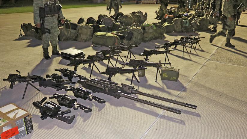 """México afirma que """"habrá un antes y un después"""" en el combate al tráfico de armas provenientes de EE.UU."""