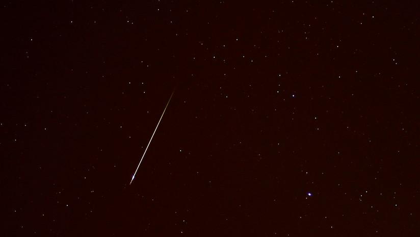 Comienza hoy la lluvia de meteoros Oriónidas