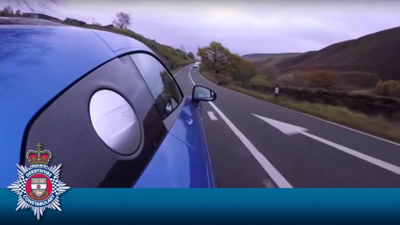 VIDEO: Publica en Facebook cómo circula a gran velocidad por una carretera peligrosa y le cuesta más de 1.500 dólares